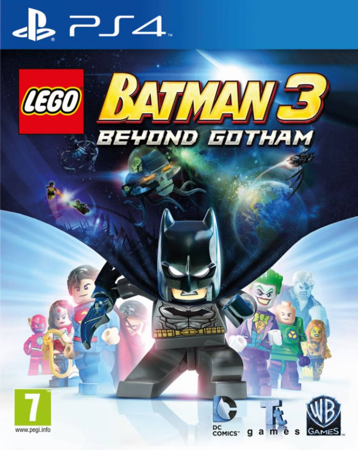 Игра Lego Batman 3 Beyond Gotham (PS4)