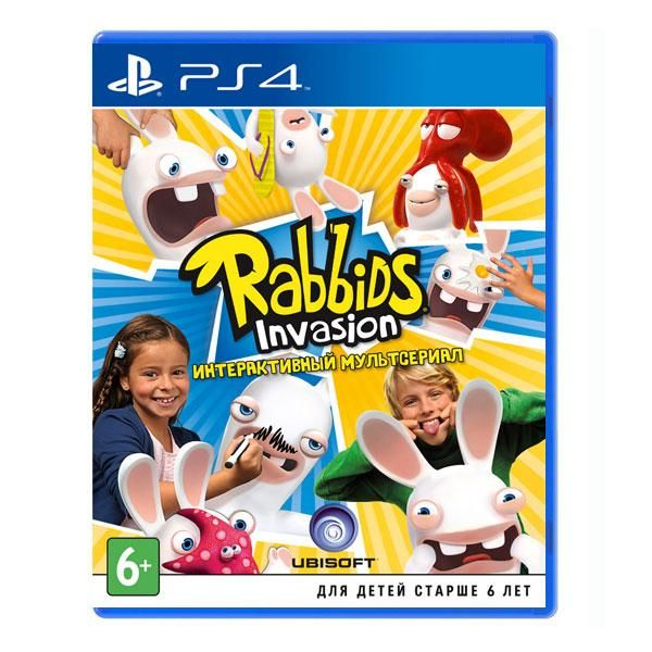 Игра Rabbids Invasion (PS4)