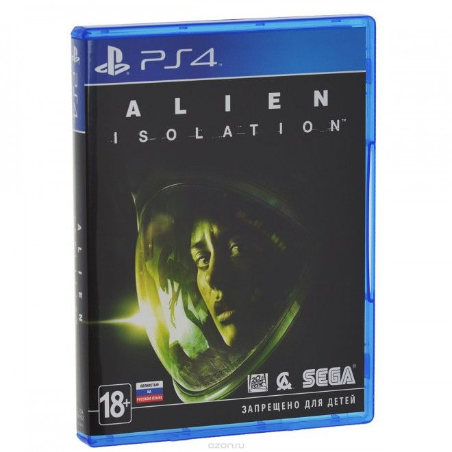 Игра Alien Isolation (PS4)