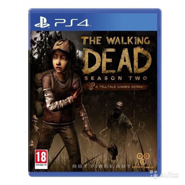 Игра The Walking Dead: Season Two (PS4)