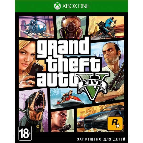 Игра GTA 5 (V) (XBOX ONE)