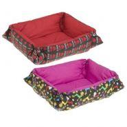 Ferplast Perla 50 - Лежак для собак и кошек (темные оттенки)