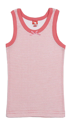 Майка для девочки Розовая полоска