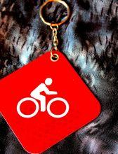 Брелок Фликер светоотражающий Вело