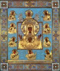 Курская-Коренная икона Божией Матери (копия оригинала 13 века)