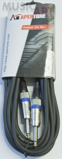 Apextone AP-2319/6 Кабель 6 м, джек-джек, инструментальный