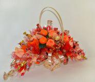 """Букет из конфет №019 """"Оранжевое настроение"""""""