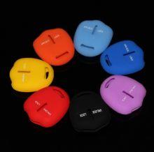 Чехол на ключ, силикон, цвета на выбор