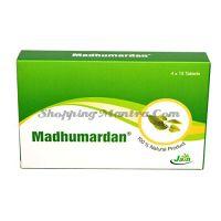 Мадхумардан в таблетках от сахарного диабета Джайн Аюрведик/Jain Ayurvedic Madhumardan Tablets