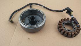 генератор в сборе (статор - обмотка генератора и ротор)  Honda  VT250