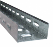 Лоток простой перфорированный размер 100х50 толщина листа 0,55 (мм)