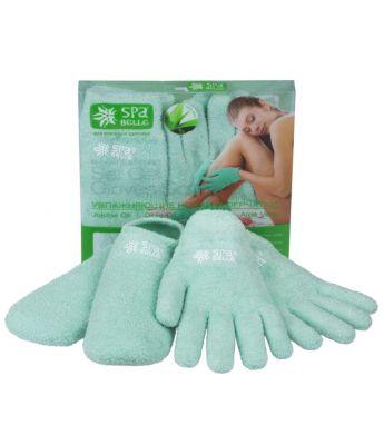 Комплект увлажняющие гелевые перчатки и носки SPA Belle