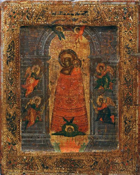 Икона Прибавление ума (копия старинной)