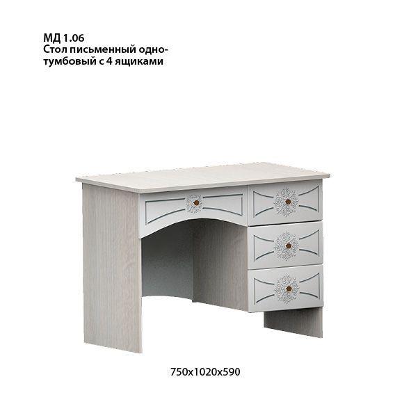 Онега Стол письменный МД 1.06