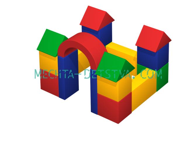 Мягкий комплекс «Замок» ДМФ-МК-19.07.01