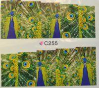 Водная наклейка для дизайна ногтей С 255