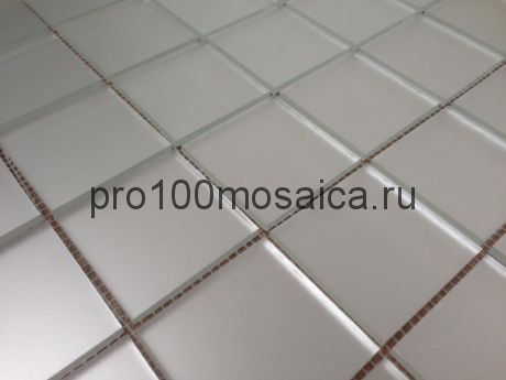 M50 Серебро матовое. Мозаика зеркальная серия PERLA, 310*310 мм (VIVERE)