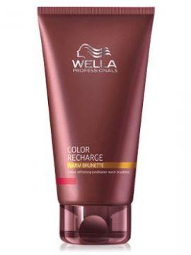 Wella Warm Brunette Бальзам для освежения цвета