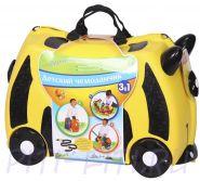 Чемоданчик на колёсиках 3в1 Zilmer желтый