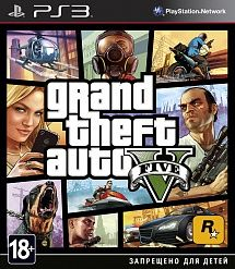 Игра Grand Theft Auto V [GTA 5] (PS3)