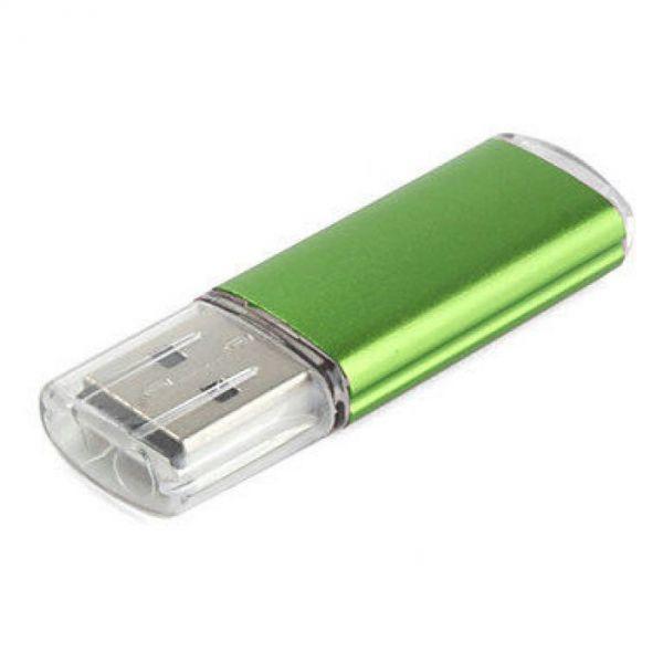 16GB USB-флэш накопитель Apexto U307B, зеленый с прозрачным колпачком