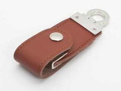 32GB USB-флэш накопитель Apexto U503C гладкая коричневая кожа OEM