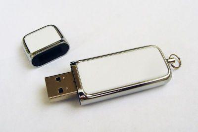 4GB USB-флэш накопитель Apexto U503G гладкая белая кожа OEM