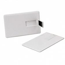 4GB USB-флэш накопитель Apexto U504E-W кредитная карточка белая