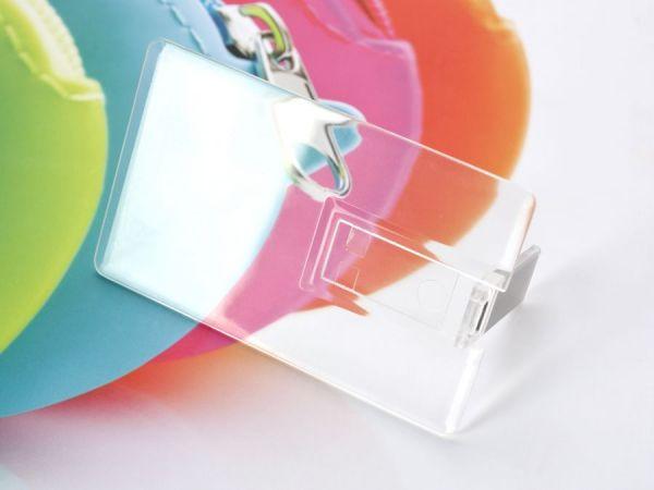 4GB USB-флэш накопитель Apexto U504EP прозрачная
