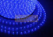 Дюралайт светодиодный, эффект мерцания(2W), синий, 220В, диаметр 13 мм, бухта 100м, NEON-NIGHT