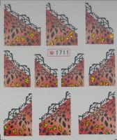 Наклейки на водной основе для дизайна ногтей №1711