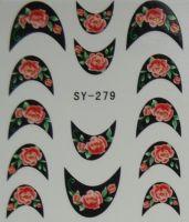Наклейки на водной основе для дизайна ногтей SY279