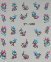 Наклейки на водной основе для дизайна ногтей SY508