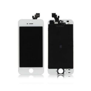 LCD (Дисплей) Apple iPhone 5 (в сборе с тачскрином) (white) Оригинал