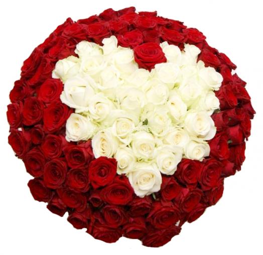 Букет Незабываемое признание. 101 роза.