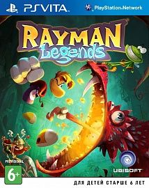 Игра Rayman Legends (ps vita)
