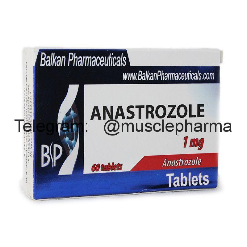 ANASTROZOL (АНАСТРОЗОЛ). 20 таб. по 1 мг.