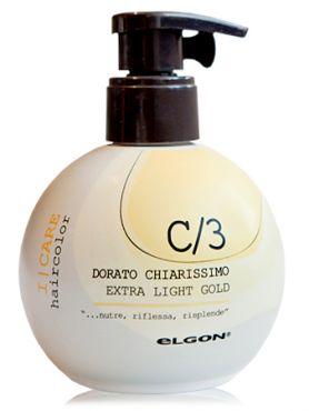 Elgon I Care Светлое золото Окрашивающий крем-кондиционер С3