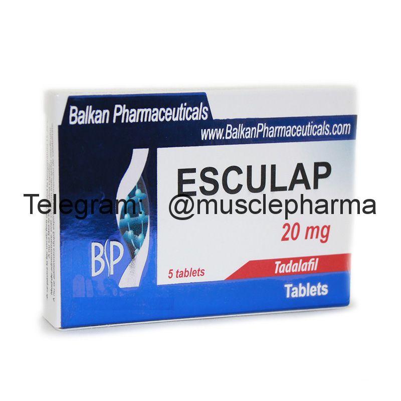 ESCULAP (ТАДАЛАФИЛ). 5 таб. по 20 мг.