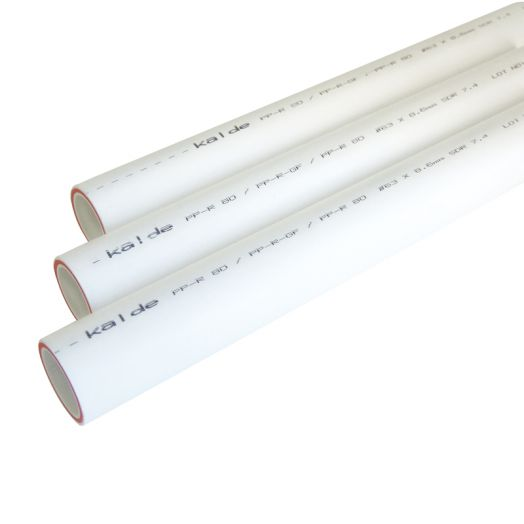 Труба ПП PN 20 63мм KALDE армированная стекловолокном