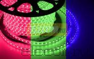LED лента Neon-Night, герметичная в силиконовой оболочке, 220V, 13*8 мм, IP65, SMD 5050, 60 диодов/метр, цвет светодиодов RGB, бухта 50 метров
