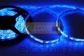 LED лента герметичная в силиконе, ширина 10 мм, IP65, SMD 5050, 60 диодов/метр, 12V, цвет светодиодов RGB