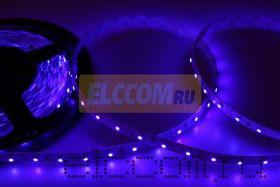 LED лента открытая, IP23, SMD 3528, 60 диодов/метр, 12V, цвет светодиодов синий NEON-NIGHT