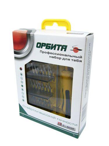 Набор отверток для ремонта электроники Орбита Т-6032