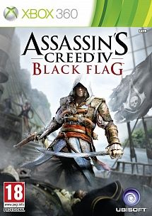 Игра Assassins Creed Черный Флаг (XBOX 360)
