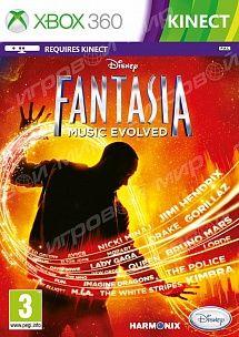 Игра Kinect Фантазия Магия Музыки (XBOX 360)
