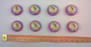 Кабошон (пластик) 22 мм, 1уп=10шт, Арт. КБП0062