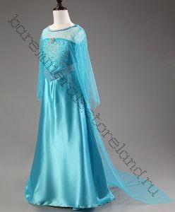 Платье Эльзы Холодное сердце длинное 120 см