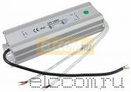 Источник питания 110-220V AC/12V DC, 12,5А, 150W с проводами, влагозащищенный (IP67)