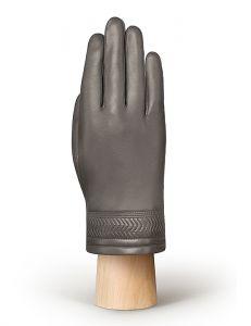 Мужская кожаные перчатки Eleganzza